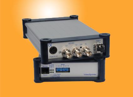 Glasfaser singlemode reichweite Glasfaser Empfänger HD-SDI 1-Kanal Video 1-Kanal Daten Multimode Micromodul 12VDC, ,00 €